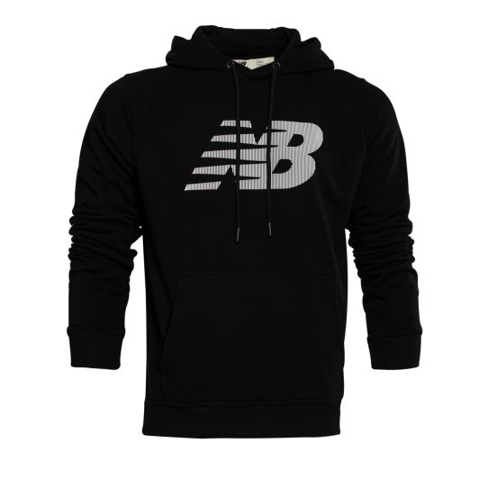 New Balance MPS022 Siyah Sweatshirt MPS022-BK