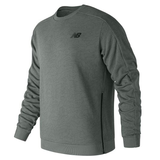 New Balance MT83513 Gri  Sweatshirt MT83513-SSE